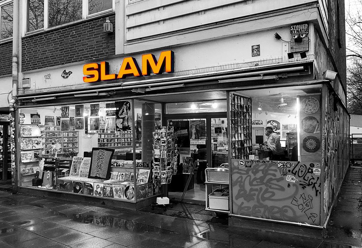 Aufmacherbild von Slam Records
